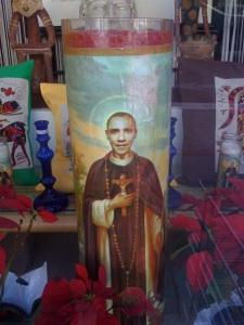 St. Obama Candle