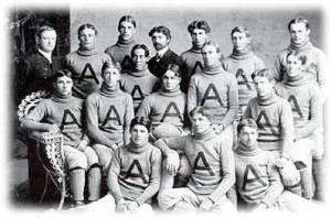 Football Team, UA's First