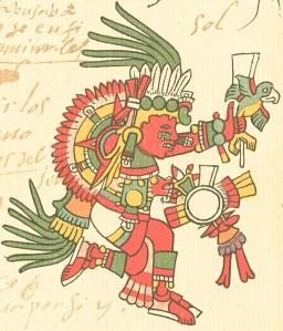 Tonatiuh, Aztec God of the Sun