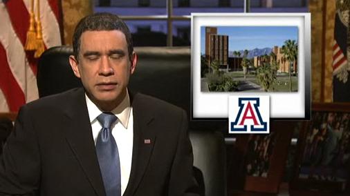 Obama SNL skit with UA