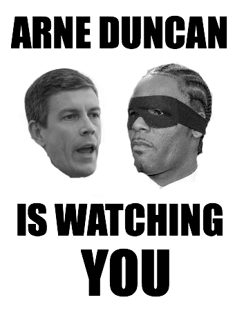 Arne Duncan AND R. Kelly Are Watching You