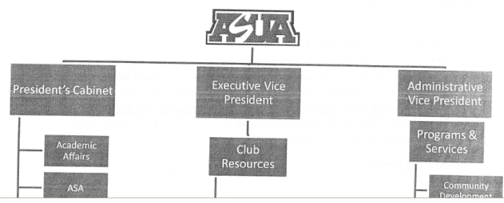 ASUA Organizational Chart