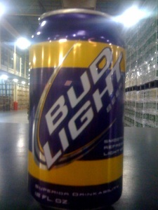 LSU Bud Light Fan Can