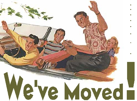 We've Moved!